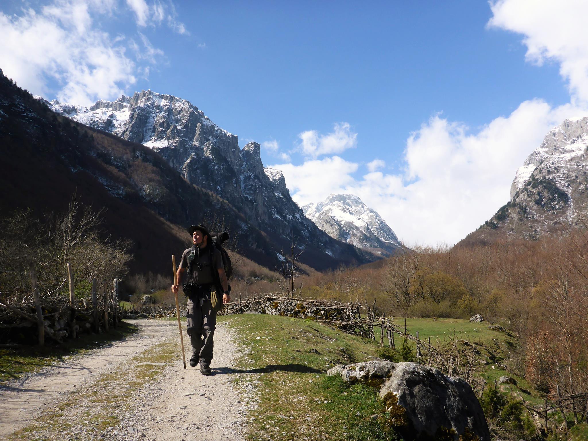 J'arrive enfin au Monténégro après ce difficile passage par les montagnes albanaises