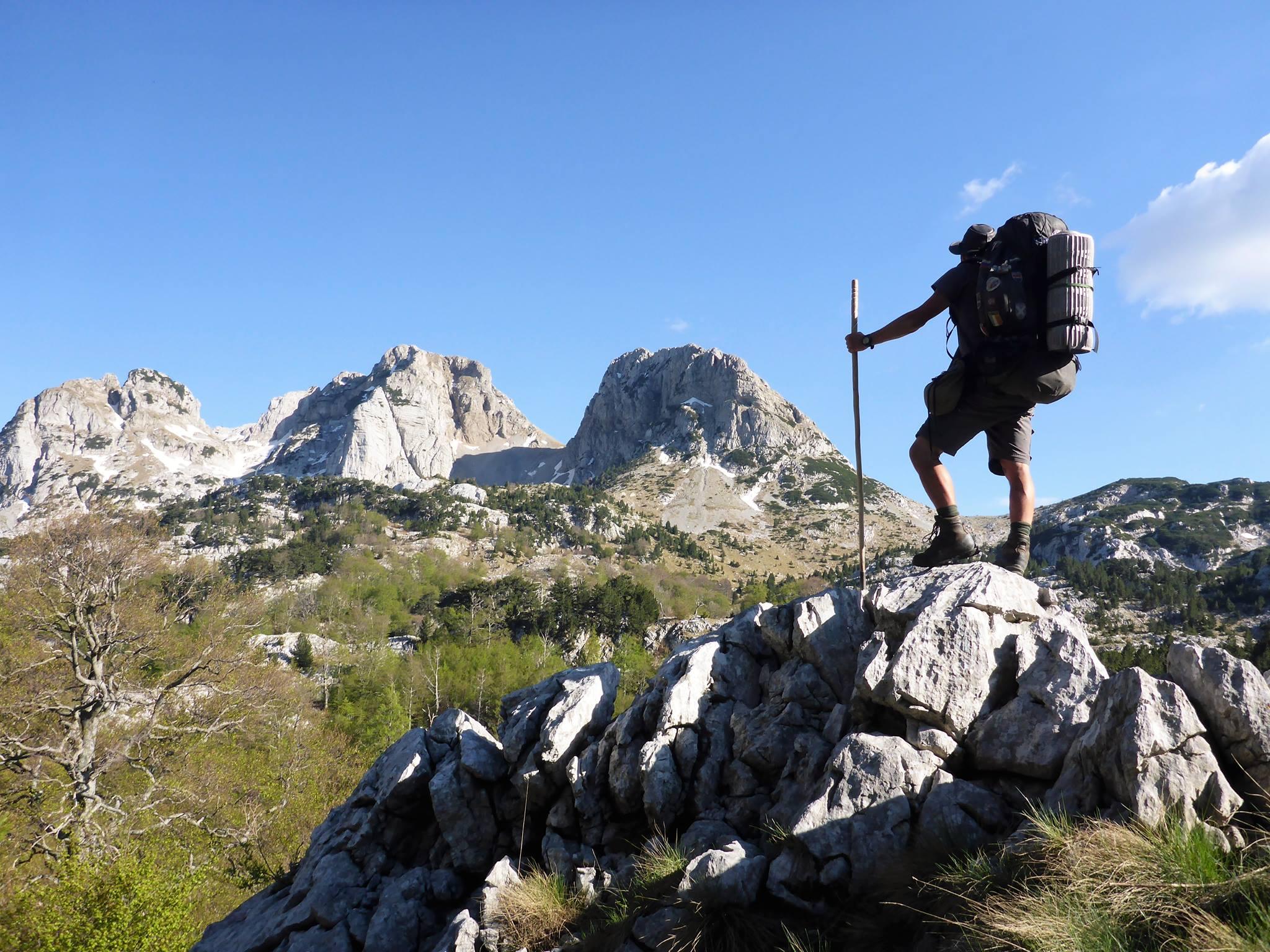 J'entre dans le massif de Prenj, le plus somptueux du pays