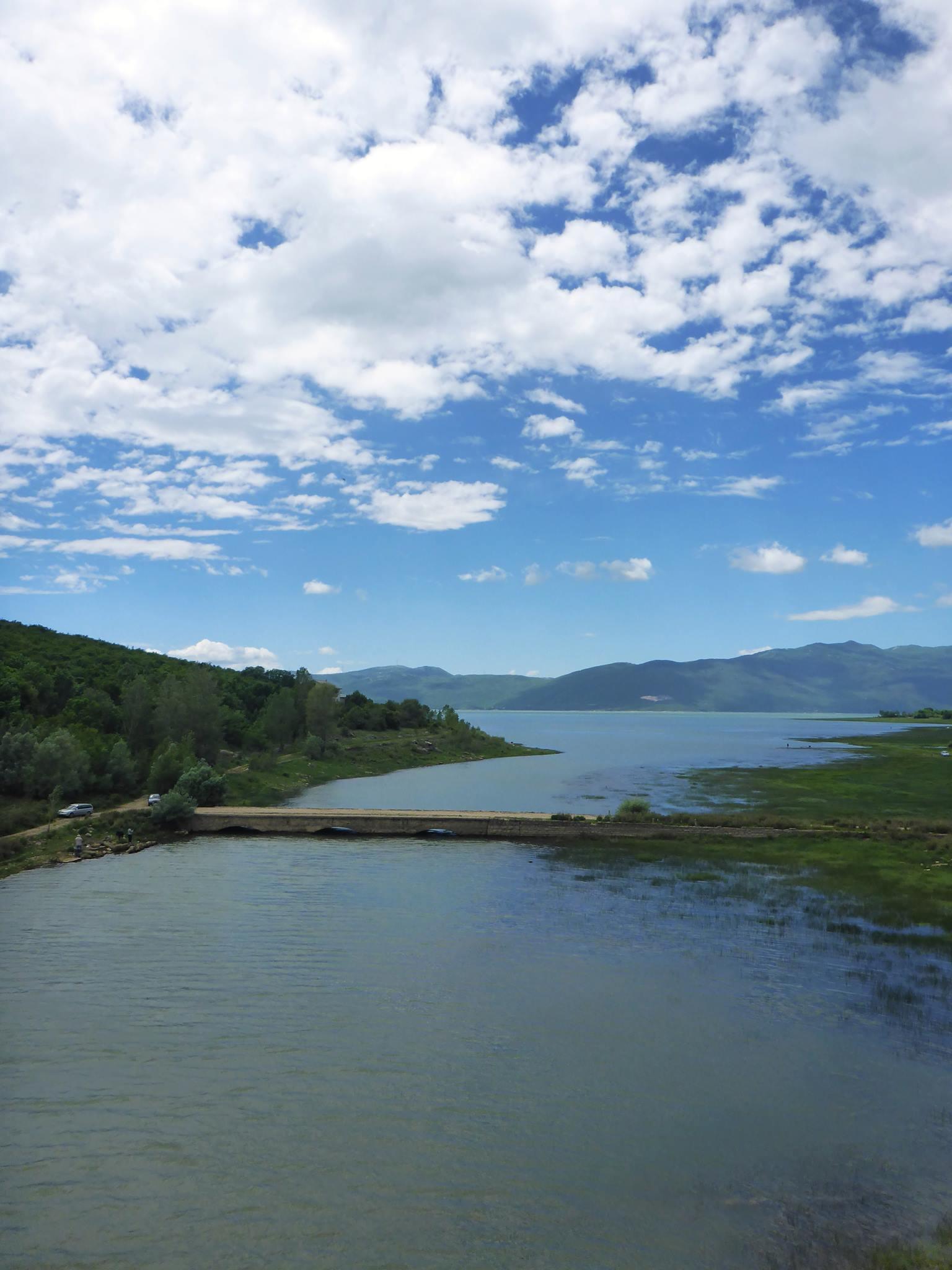 Le lac de Busko, marquant pour moi le passage en Croatie