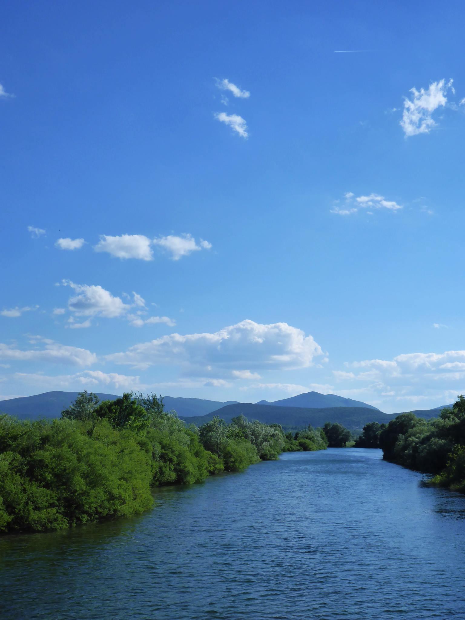 La rivière Cetina
