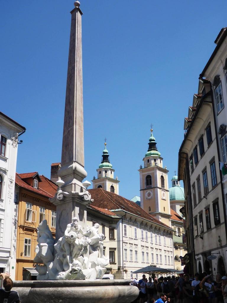 La ville de Ljubljana est vraiment belle, pas trop étendue et pleine d'une architecture interessante.
