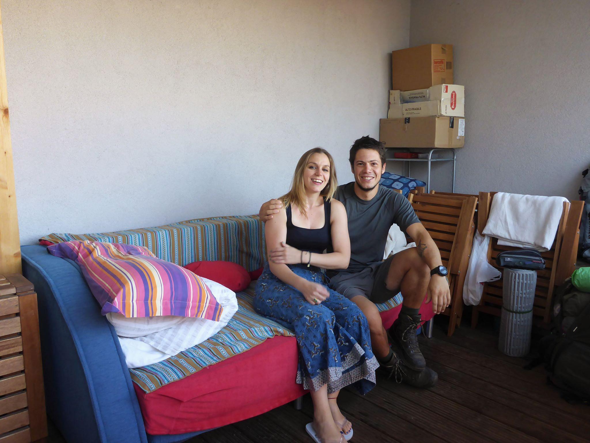 Je passe plusieurs jours avec Labrini, une grec vivant depuis huit ans en Slovénie