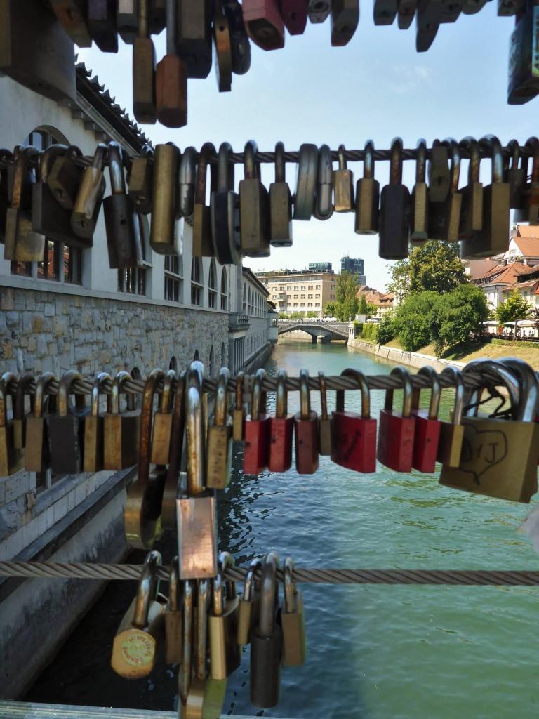 Nous passons les derniers moments à Ljubljana avant de commencer la marche