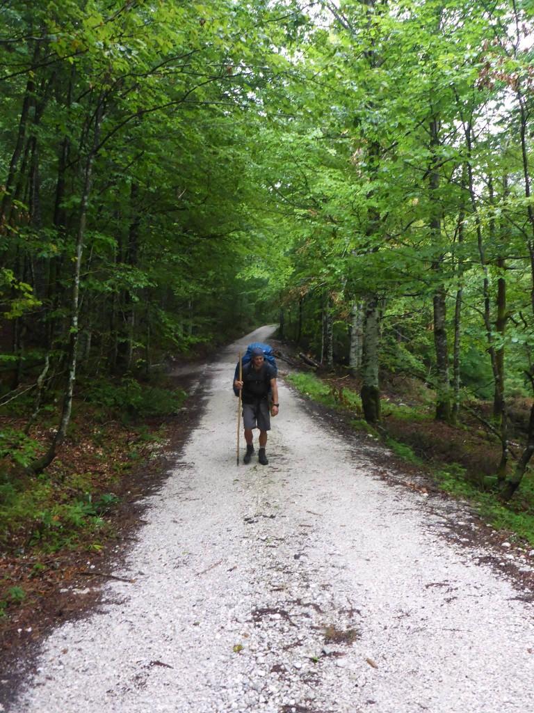 Nous prenons enfin les chemins pour les montagnes