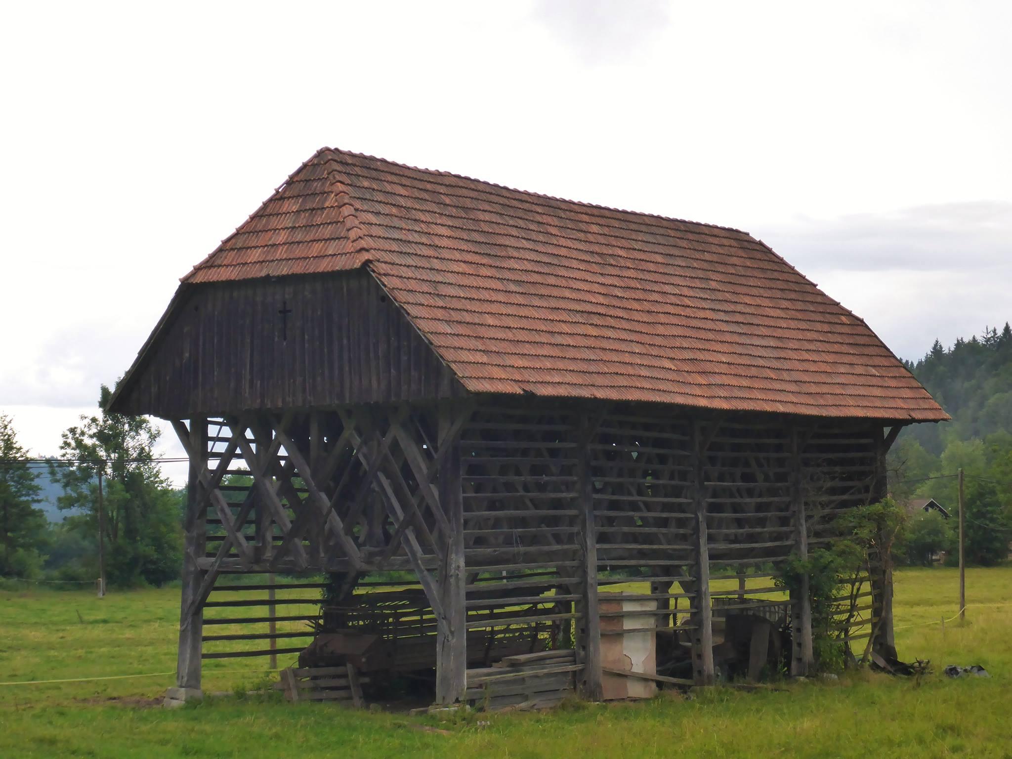 La grange à foin du pays. Très fonctionelle